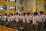 留学生のための壮行会が行われました。