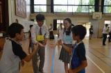 加久藤小学校との交流会がおこなわれました。